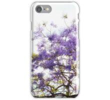 Purple Coastal Flowers CALIFORNIA iPhone Case/Skin