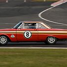 Ford Falcon (1963 Red) by Willie Jackson
