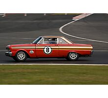 Ford Falcon (1963 Red) Photographic Print