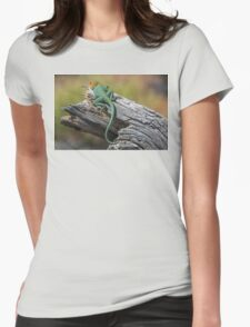 Collared Lizard Womens Fitted T-Shirt
