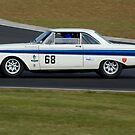 Ford Falcon (1964 White) by Willie Jackson