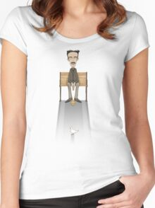 Nikola Tesla, Inventor of Love Women's Fitted Scoop T-Shirt