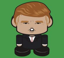 Donald Trump Politico'bot Toy Robot 1.0 by Carbon-Fibre Media
