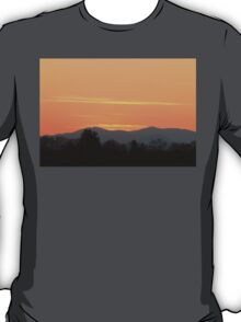 Orange Sunset in The Smokies T-Shirt