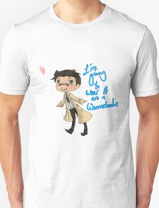 Wear it as a Wormstache Unisex T-Shirt