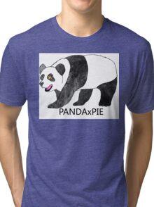 Traditional PANDAxPIE Tri-blend T-Shirt