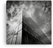 The building Canvas Print