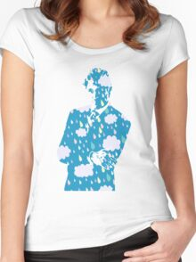 cloudy times Women's Fitted Scoop T-Shirt