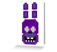 Pixel Bonnie Greeting Card