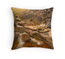 Swinner Gill, Keld, Swaledale, Yorkshire Dales Throw Pillow