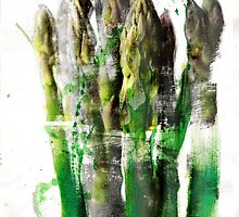 asparagus  by ruthkatherinee