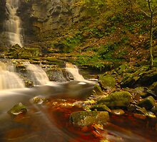 Mill Gill Force, Askrigg, Wensleydale, Yorkshire Dales by James Paul