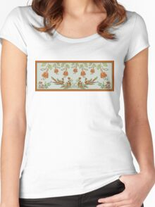 Spring Garden Women's Fitted Scoop T-Shirt