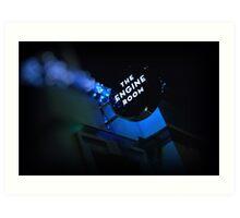 La salle bleue Art Print