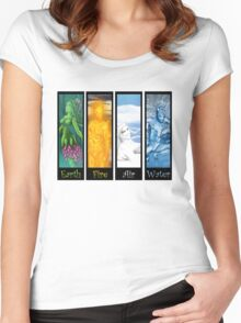 Adult Element: Tierra Women's Fitted Scoop T-Shirt
