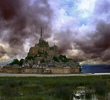 Le Mont St Michel I by lallymac