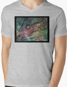 Leviathan (white letters) Mens V-Neck T-Shirt