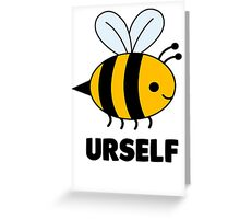 bee is lyfe Greeting Card