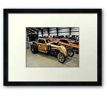 Bradford's Fiat Framed Print