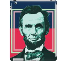 Abraham Lincoln - Retro iPad Case/Skin