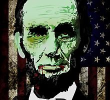 Abraham Lincoln - Zombie by Adamzworld