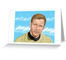 William Shatner as James T. Kirk Greeting Card