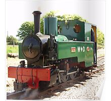 0-6-0 ex:War Department Narrow Gauge Engine Poster