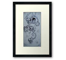 superbla(pride)/humility Framed Print