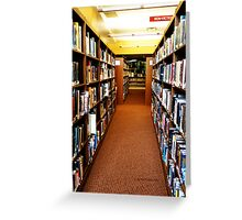 Non Fiction Greeting Card
