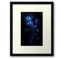 Lotus Jewels Framed Print