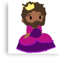 Princess Funches Canvas Print
