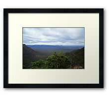 Horseshoe Lookout Blackdown Tableland Framed Print
