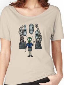 Nuclear Balloon Boy (Save our Planet) Women's Relaxed Fit T-Shirt