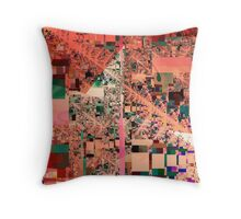 Abstract Composition XXII Throw Pillow