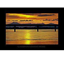 Spring Sunset. Photographic Print