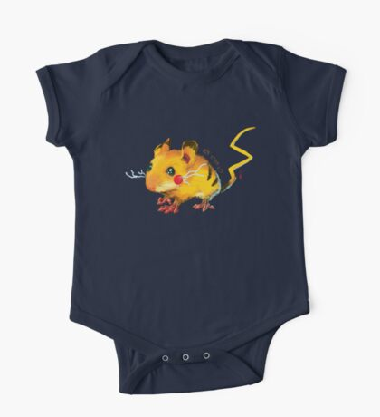 Electric Mouse One Piece - Short Sleeve