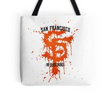 WE BLEED ORANGE Tote Bag
