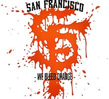 WE BLEED ORANGE by travis stevenson