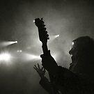 Rock guitarist by Laurent Hunziker
