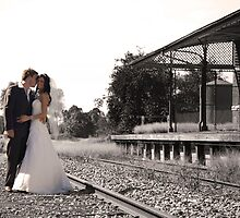 Love on track by jlphoto