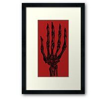 Grim Touch  Framed Print