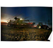 Night Harvest Poster