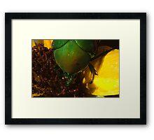 272 Green Shield Stink Bug Framed Print