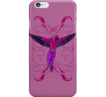 The Pink Parrot iPhone Case/Skin