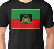 Afro Haitian Flag Unisex T-Shirt