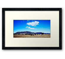 Expedition Mountain Range Central Queensland Framed Print