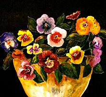 Flowers...Pansies by © Janis Zroback