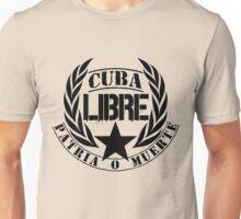 Cuba Libre Cuban Motto Unisex T-Shirt
