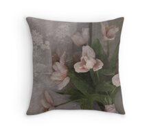 Window Bouquet Throw Pillow