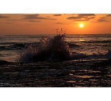 Through Water Photographic Print